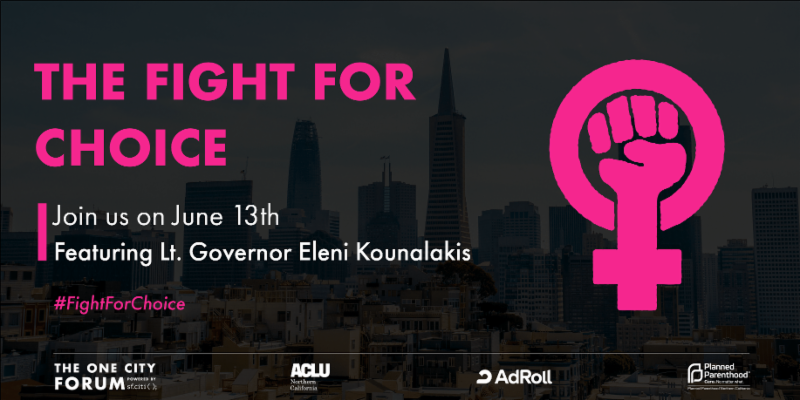 Fight for Choice event