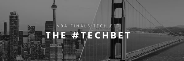 Bay Area Challenges Toronto to an NBA Finals #TechBet