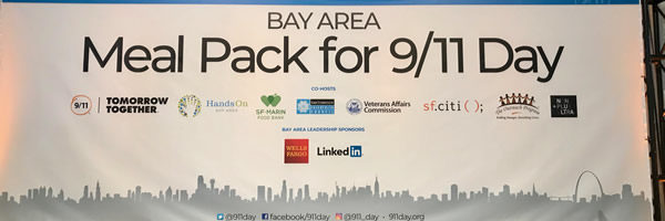 Tech Turns Out for the 9/11 Day Bay Area Meal Pack